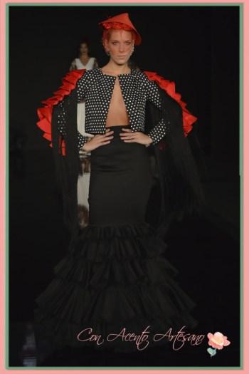 Juan Carlos Pérez, finalista III Certamen diseñadores noveles de moda flamenca We Love Flamenco 2016