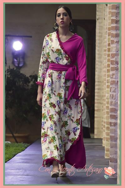 Vestido kimono y estampado de Alegna