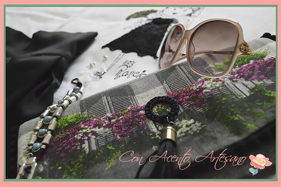 Camiseta y bolso de Contodoelarte combinados con pulsera Gios Complementos