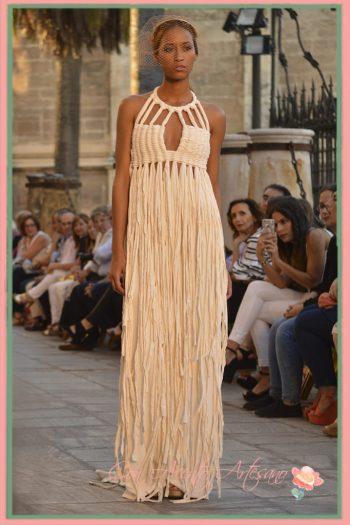 Vestido de novia étnico de Ernesto Sillero