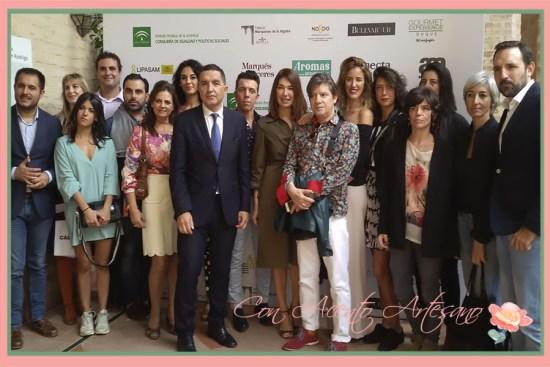 Presentación a la prensa de la nueva edición de la Pasarela Andalucía de Moda este pasado jueves
