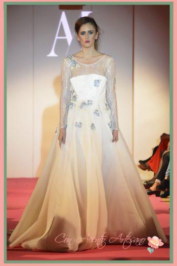 Traje de novia de silueta princesa de Ana Mayo