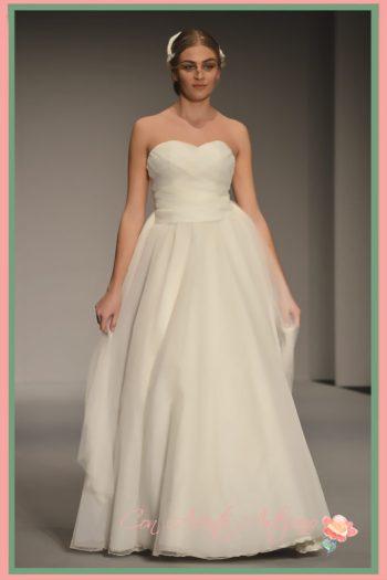 Vestido de novia de María Luisa Sánchez Palencia