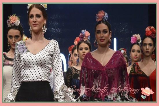 Colección Esencia de Cinta Coronel en Huelva Flamenca 2018
