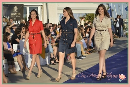 Vestidos gabardina de doble botonadura de Spagnolo Moda