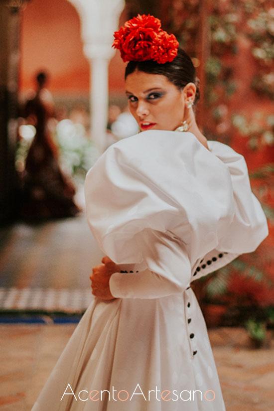 Traje de flamenca de Johanna Calerón