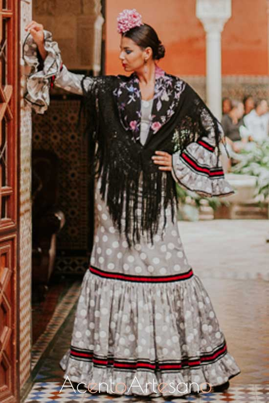 Traje de flamenca de Notelodigo