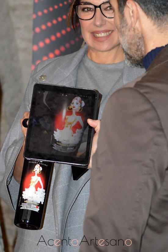 Etiqueta interactiva del vino Marqués de Cáceres