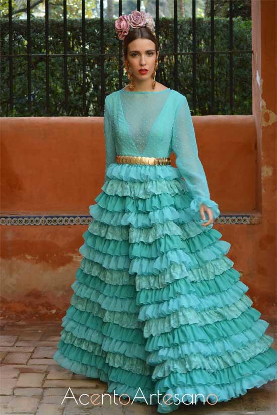 Traje de flamenca de María Ramírez