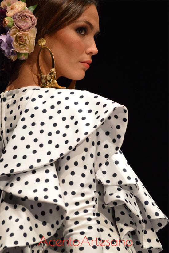 Traje de flamenca de Ernesto Sillero en SIMOF 2016