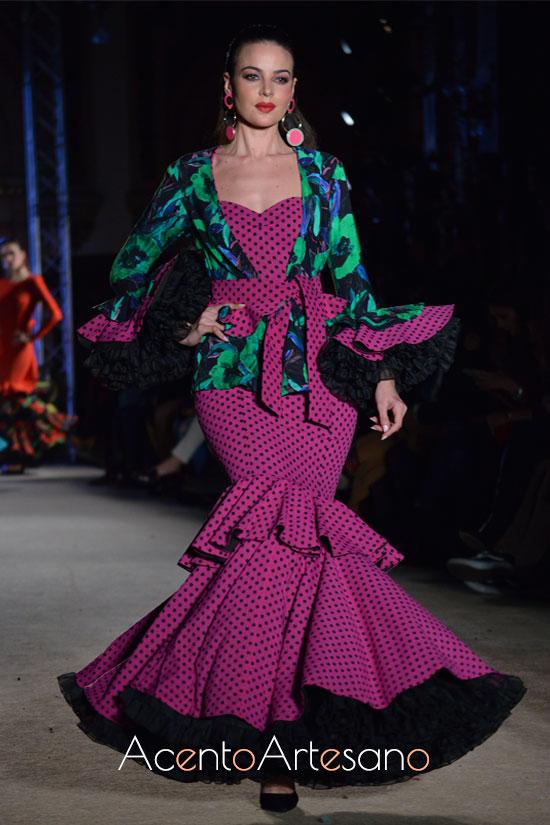 Kimono para traje de flamenca de Pablo Retamero y Juanjo Bernal