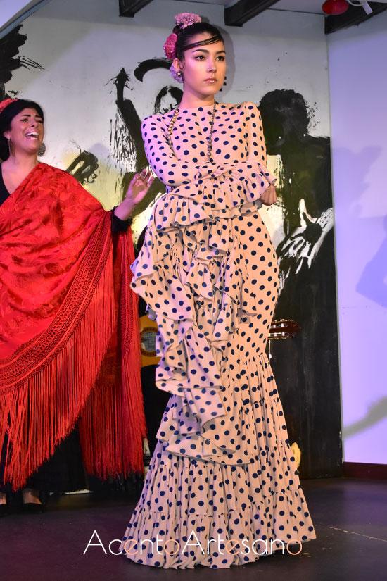 Traje de flamenca canastero de Victorio y Lucchino