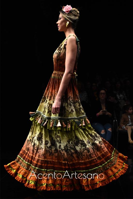 Traje de flamenca canastero e Atelier Rima