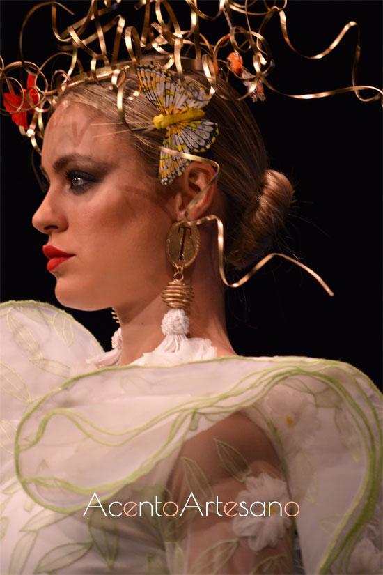 Margaritas y mariposas flamencas de Francisco Tamaral