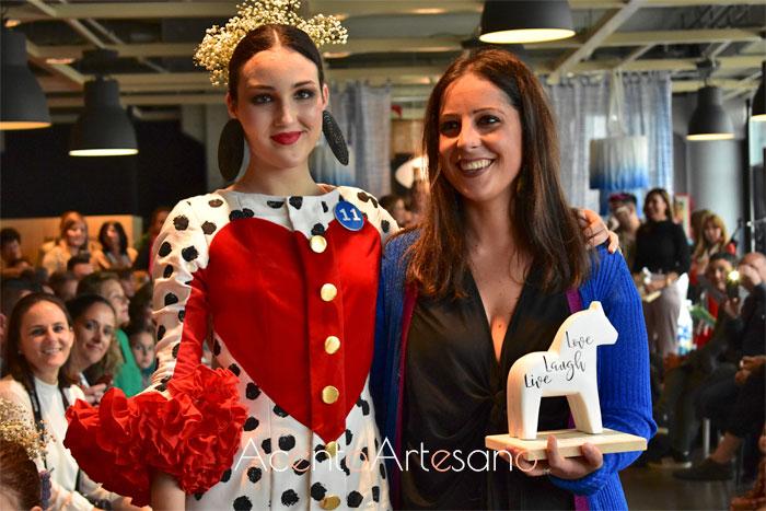 Almudena Ross ganadora del Certamen Moda Flamenca IKEA Sevilla 2019