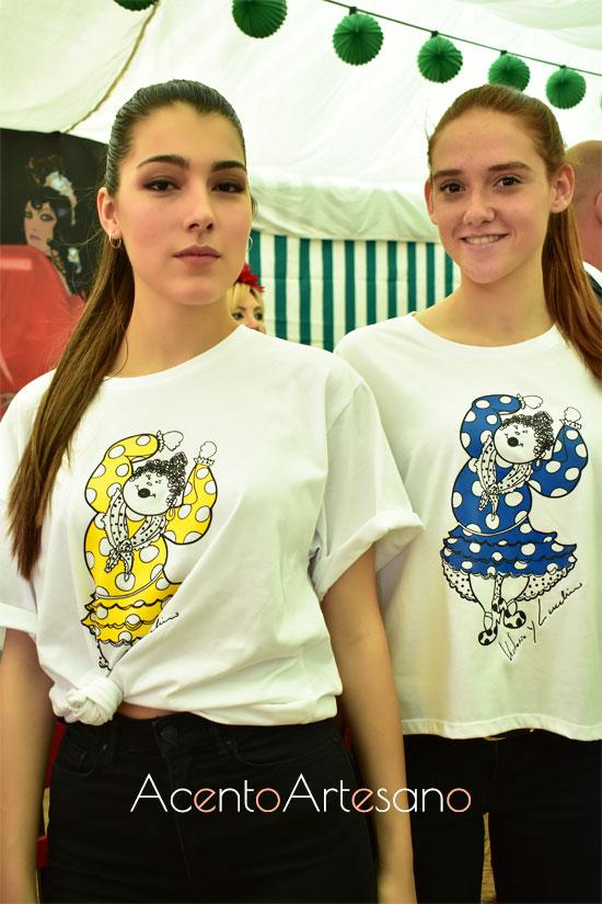 Las nuevas camisetas de Botón Moda Ética están realizadas por Victorio & Lucchino
