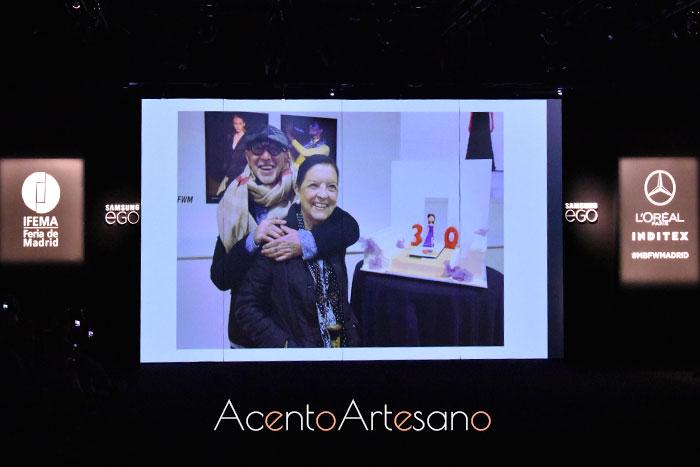 Homenaje a Cuca Solana en la 70 edición de la Mercedes-Benz Fashion Week Madrid, julio 2019