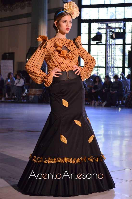 Traje de flamenca de Ava Wunder