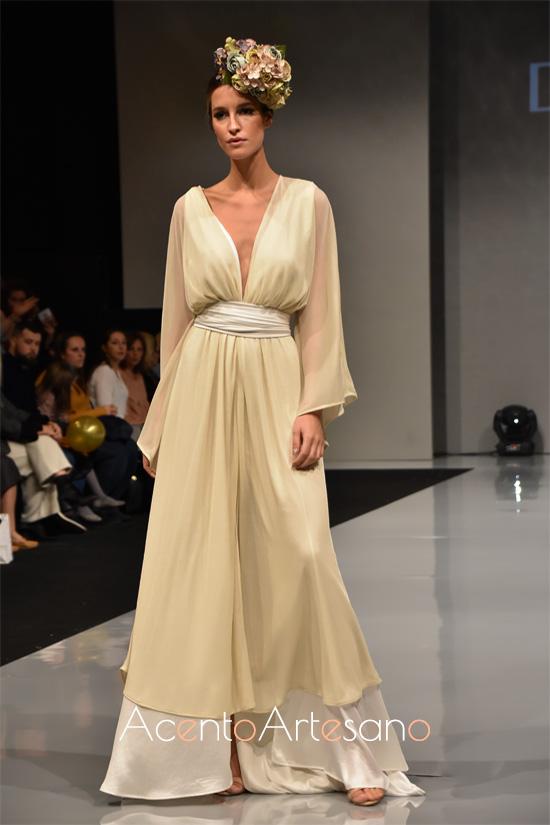 Vestido de novia de Doble C en Sevilla de Boda 2019