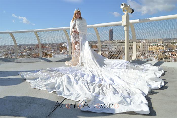 Vestido de novia de Tom Márquez