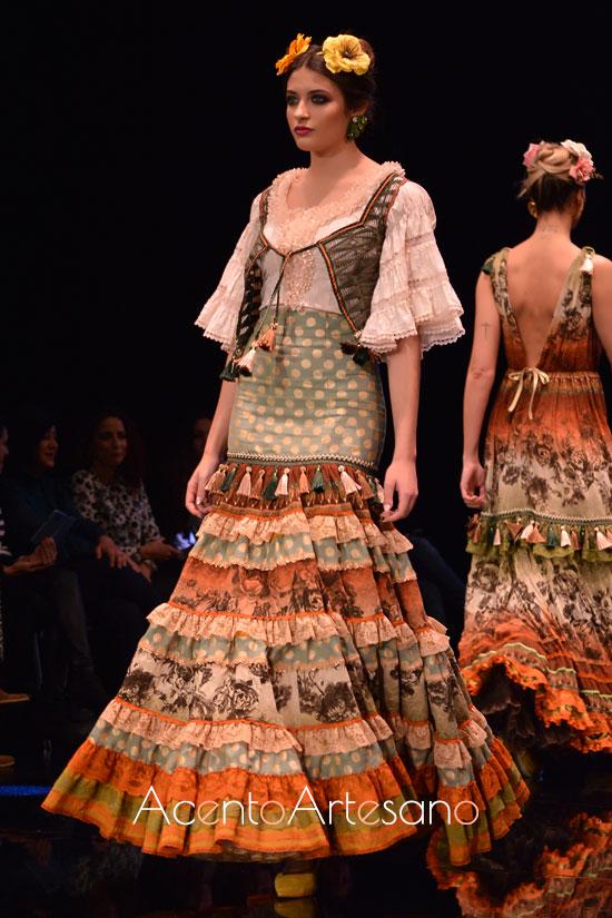 Traje de flamenca de Atelier Rima en SIMOF