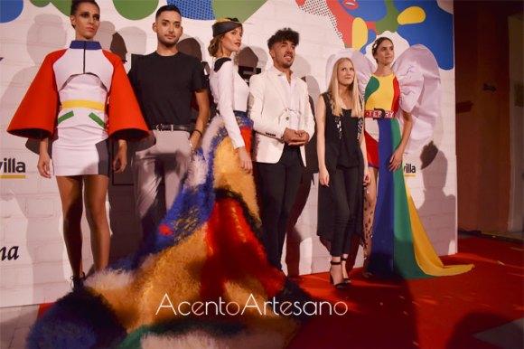 Adrián Mesa, Tom Márqez  y Andrea Fernández, ganadores primera edición Pasarela Innnova by Wappíssima