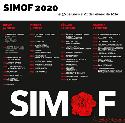 Programa desfiles SIMOF 2020