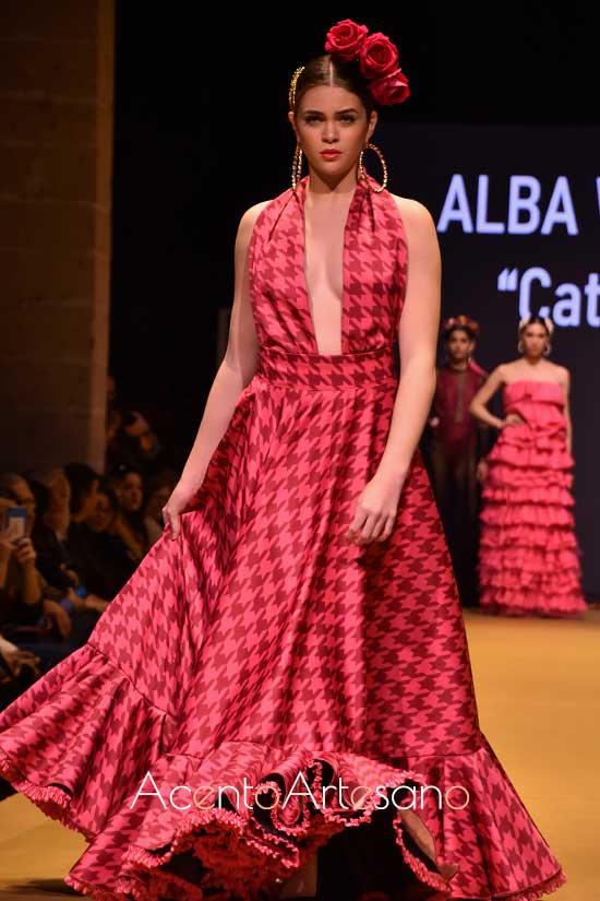 Estilismo flamenco de Alba Werner