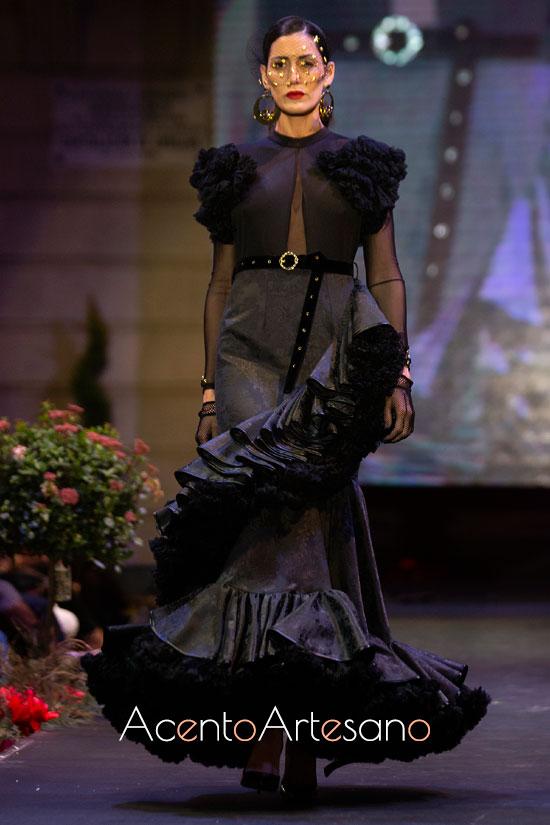 Traje de flamenca negro de T de Touché
