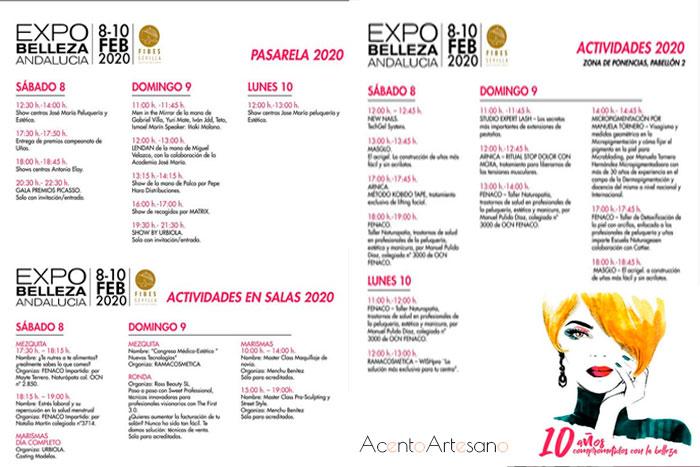 Programación Expo Belleza 2020