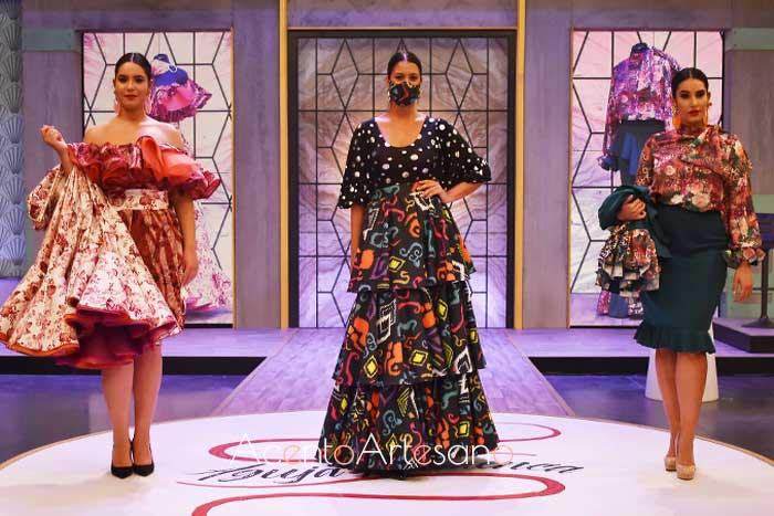 Diseño inspirados para la preuba por equipos y los diseños de Álvaro y María en Aguja Flamenca