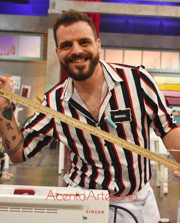 Manuel Eslava, nuevo concursante de Aguja Flamenca