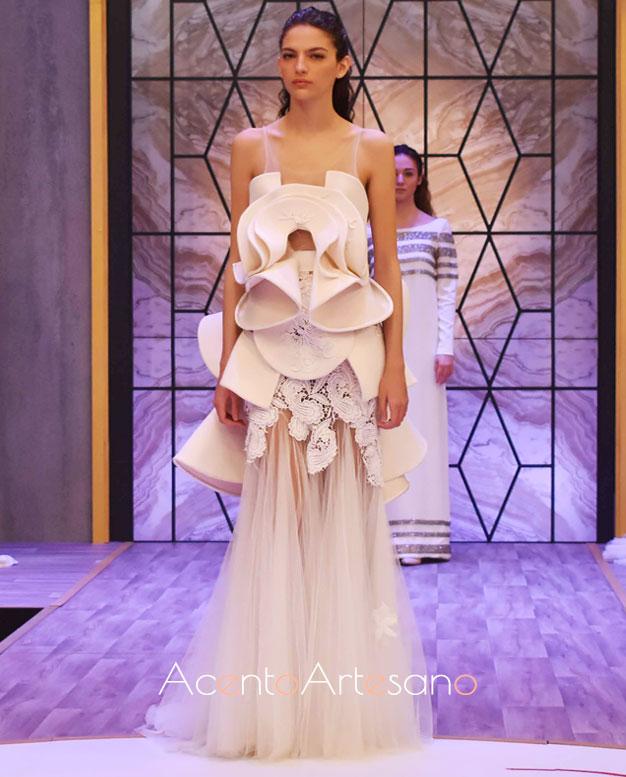 Vestido de novia de Roberto Díz