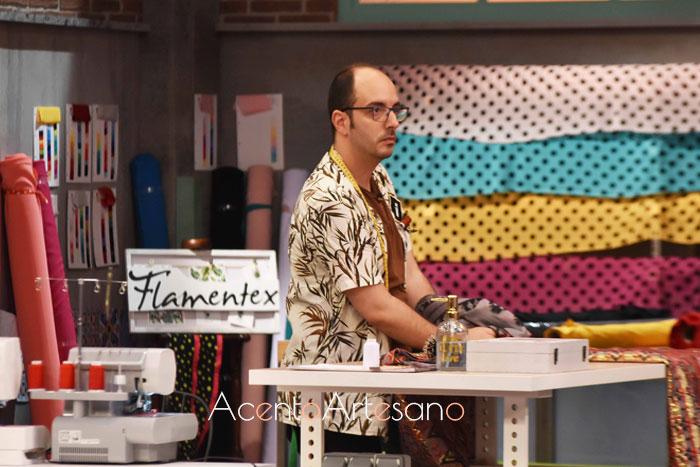José Manuel, concursante eliminado en el quinto programa de Aguja Flamenca