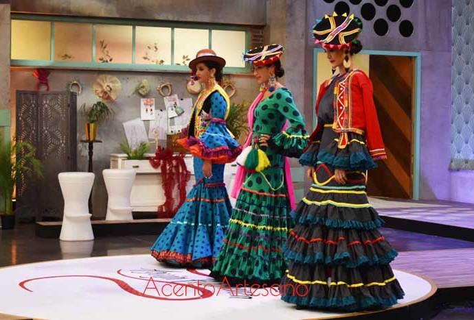 La moda flamenca se fusiona con otras culturas en Aguja Flamenca