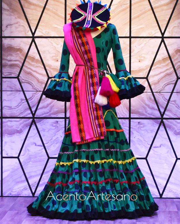 Vestido inspiración de Rocío Peralta para la prueba por equipos