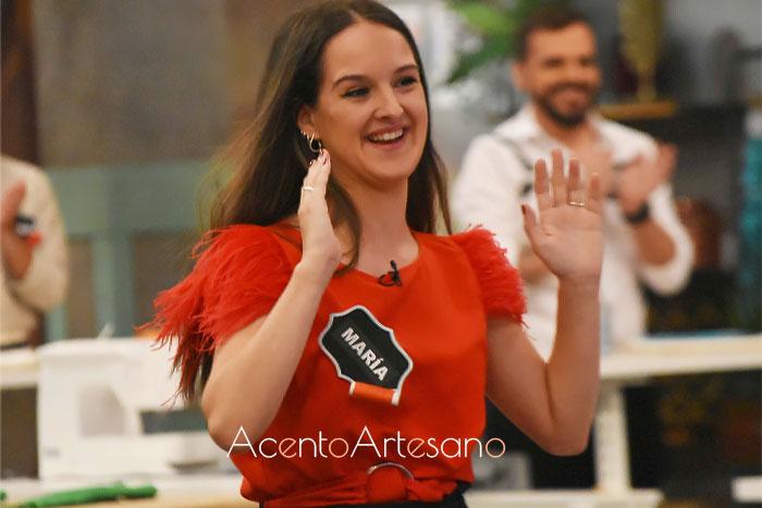 María, eliminada en el programa número 11 de Aguja Flamenca