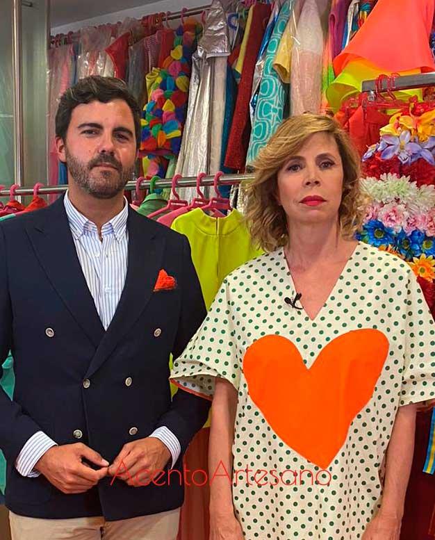 Ágatha Ruíz de la Prada entrevistada por Mario Niebla del Toro para Aguja Flamenca