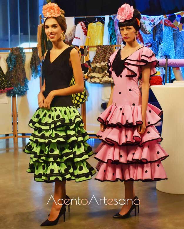 Trajes de flamenca Marisol de los años 60 de Sara de Benítez