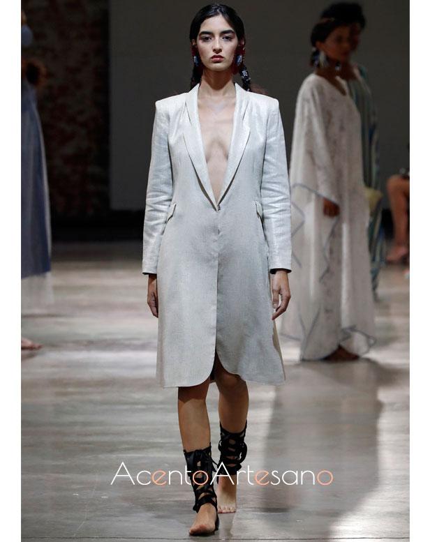 Vestido chaqueta de Pilar Dalbat