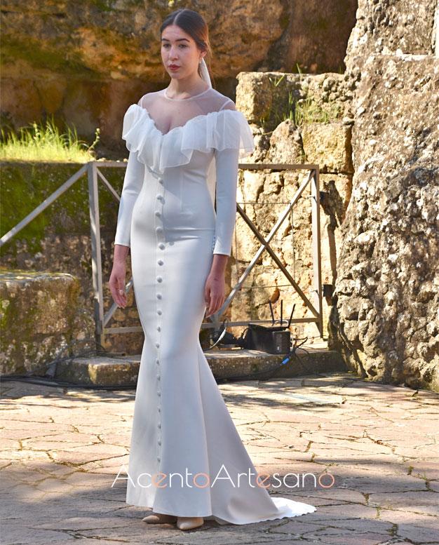 Vestido de novia de Nicolás Montenegro