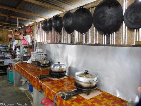 調理器具が豊富なキッチン、もとい厨房