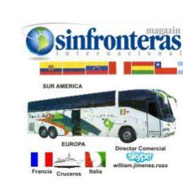 44 MAGAZIN SIN FRONTERAS INTERNACIONAL POR TIERRA