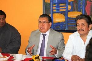 """Valentín González Bautista destaca que en este momento """"la participación ciudadana organizada es la única que puede garantizar que se logre la paz y la gobernabilidad""""."""