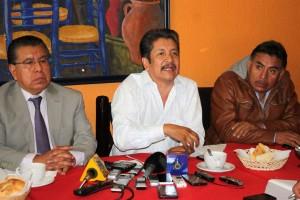 Elí Homero Aguilar Ramírez manifestó en la conferencia de prensa que la inseguridad mantiene en un clima de terror a los ciudadanos del oriente de la CDMX y el Edomex.