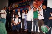 Líderes y periodistas de diferentes países, testigos de esta unión