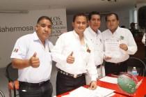 CONAPE fomenta la unión del gremio periodístico en Tabasco (108)