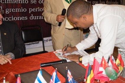 Firma de alianza entre CONAPE y FUNEMA