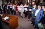 Toman protesta los nuevos integrantes de la Vicepresidencia de CONAPE en Puebla.