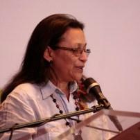 Ana María Hernández, vocera de la Plataforma de Periodistas de Venezuela.